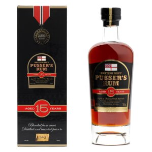 Pusser's Rum Aged 15 Years