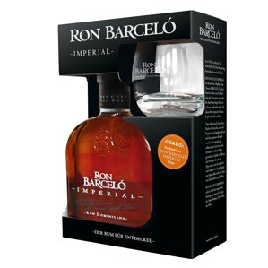 Ron Barceló Imperial + sklenice