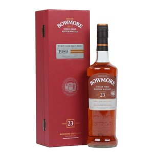 Bowmore 1989 Port Cask Matured Aged 23 Years