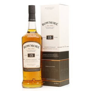 Bowmore Aged 15 Years - Golden & Elegant 1 l