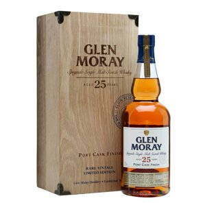 Glen Moray Port Cask 25 Years Old