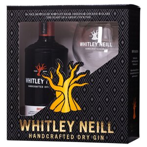 Whitley Neill London Dry Gin Glass Set