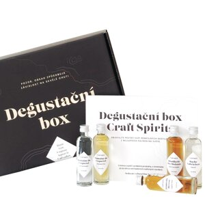 Degustační box Crafted Spirits 5 x 0,04 l