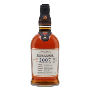 Foursquare 2007 Cask Strength 12 Year Old