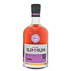 Ron Summum Sherry Cream Cask Finished 12 años Solera