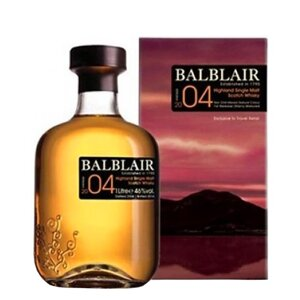 Balblair 2004 Bourbon Matured 1 l