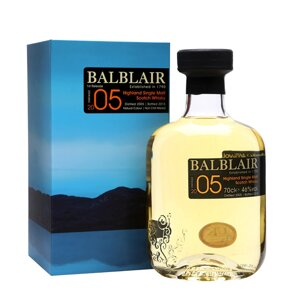 Balblair Vintage Collection 2005