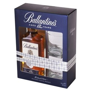 Ballantine's Aged 12 Years + 2 sklenice