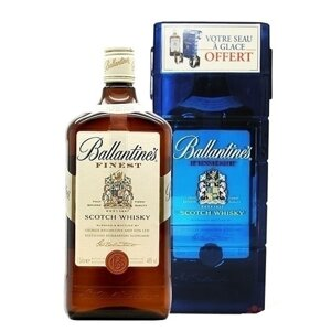 Ballantine's Finest + Ice box