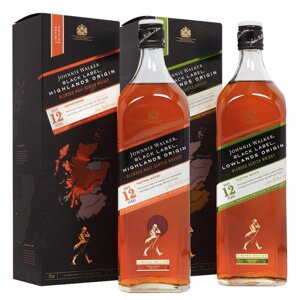 Johnnie Walker Black Label Highlands & Lowlands Origin