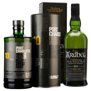 Port Charlotte 10 & Ardbeg Ten
