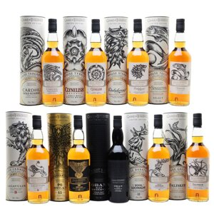 Game Of Thrones Single Malt Whisky Collection