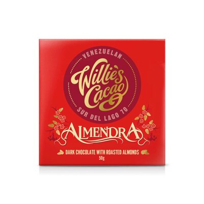 Willie's Cacao Almendra