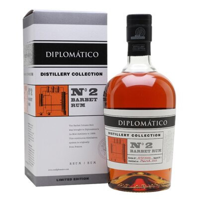 Diplomático Distillery Edition No.2 Barbet Column Rum