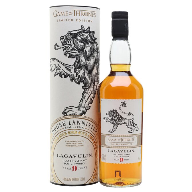 Lagavulin 9 Years Old - Game of Thrones House Lannister