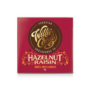 Willie's Cacao Hazelnut Raisin