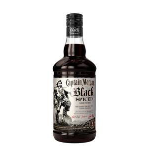 Captain Morgan Black Spiced Rum 1 l